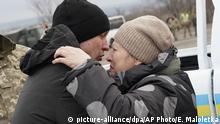 Ukraine | Gefangenenaustausch nahe Odradivka