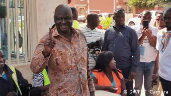 Guinea Bissau Präsidentenwahl   Aristides Gomes