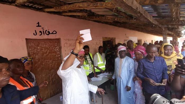 Guinea Bissau Präsidentenwahl 2. Runde | Kandidat Umaro Sissoco Embaló