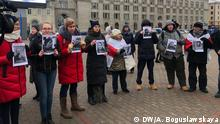 Weißrussland Minsk Protest gegen mögliche Vereinigung von Russland und Weißrussland