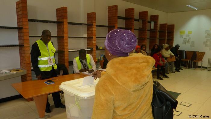 Portugal Stimmabgabe Guinea-Bissau Wahl 2019