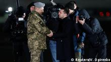 Ukraine - Russland Gefangenenaustausch | Empfang Wolodymyr Selenskyj, Präsident