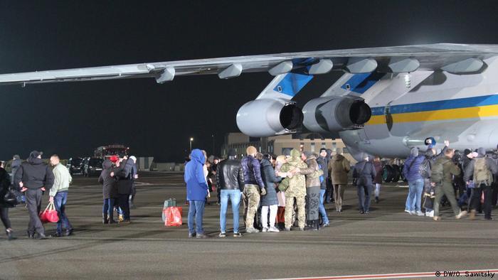 29 грудня: прибуття до Києва звільнених у рамках обміну українців
