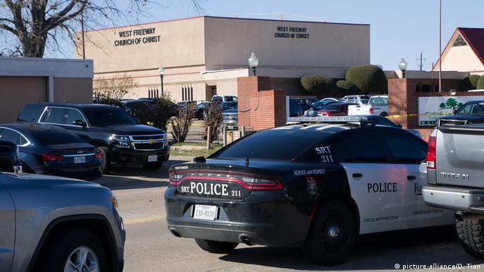 USA, Texas, Fort Worth: Schüsse in Kirche (picture-alliance/D. Tian)