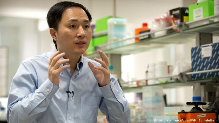 Image result for images of Chinese scientist jailed for editing babies genes to make them HIV-resistant
