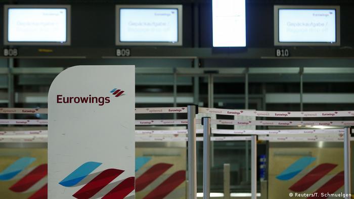 Deutschland Flugverkehr l Streik - Eurowings streicht mehr als 170 Flüge
