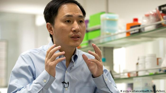 He Jiankui | China Forschung (picture-alliance/dpa/M. Schiefelbein)