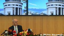27/12/2019 Mazedonischer Staatsanwalt Ljubomir Jovevski, Skopje. Foto: Petr Stojanovski