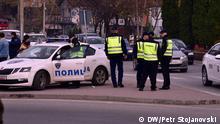 Polizei in Nord-Mazedonien