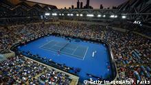 Das Tennis-Stadion Margaret Court in Melbourne