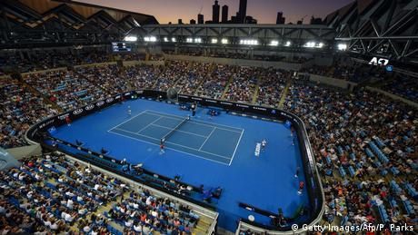 Margaret Court tennis stadium in Melbourne