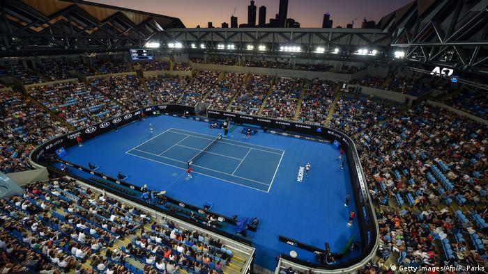 ملعب مارغريت كورت للتنس في ملبورن بأستراليا