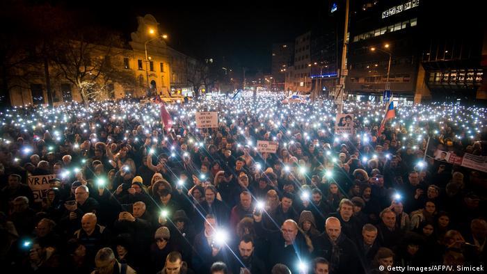 Жалобна акція у Словаччині