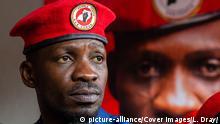 Popsänger Bobi Wine als Oppositionspolitiker der People Power campaign