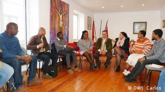 Studententreffen von São Tomé und Príncipe im Guarda, Portugal