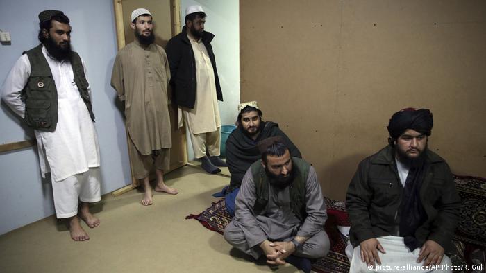 Afghanistan Taliban Gefängnis (picture-alliance/AP Photo/R. Gul)