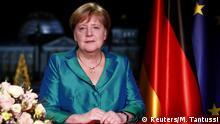 Angela Merkel Neujahrsansprache SPERRFRIST