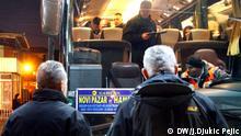 Novi Pazar. 30.12.2019. Bus station in Novi Pazar