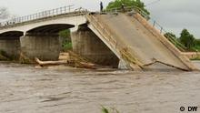 Mosambik | Brücke am Fluß Montepuez in Cabo Delgado nach Überschwemmungen