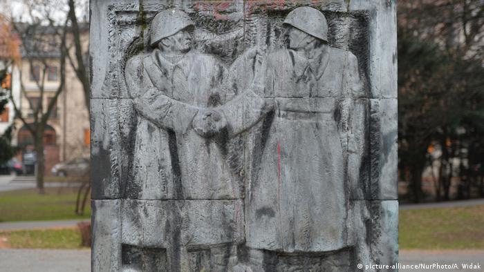 Памятник Благодарности Красной армии в польском городе Жешув