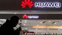 China Peking Huawei Geschäft