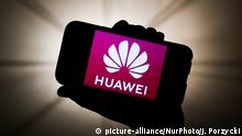 Logo Huawei (picture-alliance/NurPhoto/J. Porzycki)