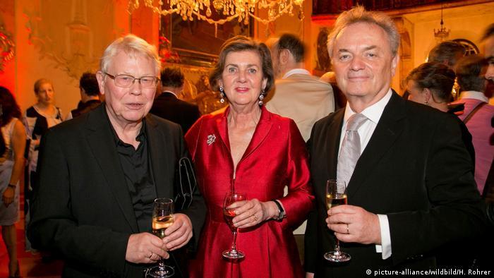Harry Kupfer, Helga Rabl-Stadler, Hans Schavernoch