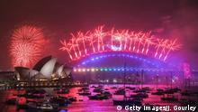 Australien l Silvester Neujahr 2019/2020 - Feuerwerk an der Sydney Opera