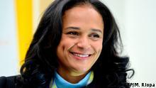 Angola l Isabel dos Santos - Gericht zieht Vermögen
