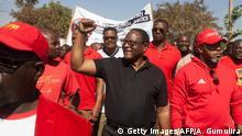 Malawi Lilongwe   Lazarus Chakwera der Malawi Congress Party