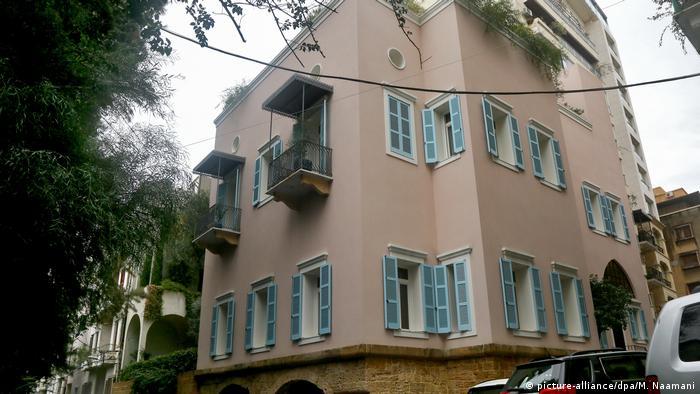 Ex-Autoboss Ghosn überraschend im Libanon aufgetaucht Villa von Ghosn (picture-alliance/dpa/M. Naamani)