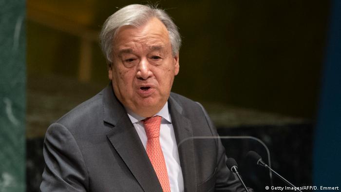 UN General Sekretär António Guterres