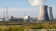 The nuclear power plant at Philippsburg near Karlsruhe, pictured on December 29, 2019, days before it would go offline.