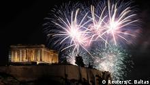 Griechenland   Neujahr 2020 in Athen