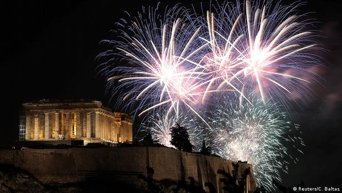 New year in Athens