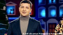 Ukraine   Zelenskys Neujahrs Ansprache