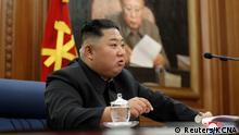 Nord Korea | Rede von Kim Jong Un