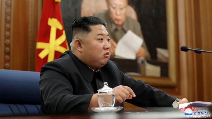 Nord Korea | Rede von Kim Jong Un (Reuters/KCNA)