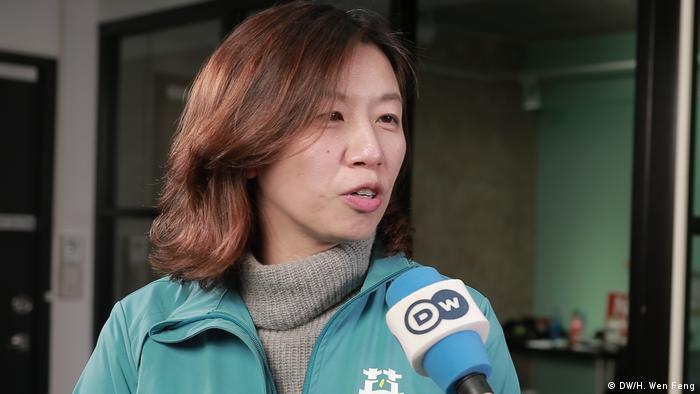 Taiwan | Lin Ching-Yi Pressesprecherin