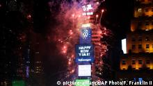 USA Sylvester   Times Square New York