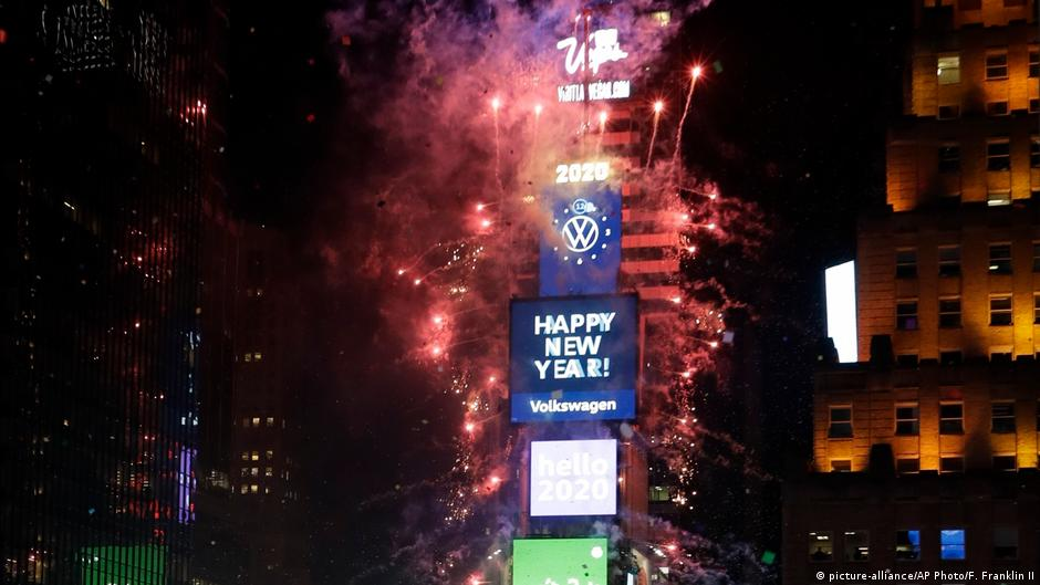 New Year S 2020 Around The World As It Happened News Dw