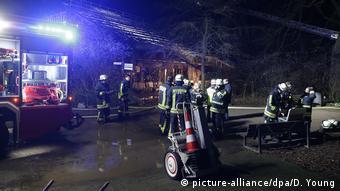 Deutschland Brand in Krefelder Zoo - alle Tiere im Affenhaus tot