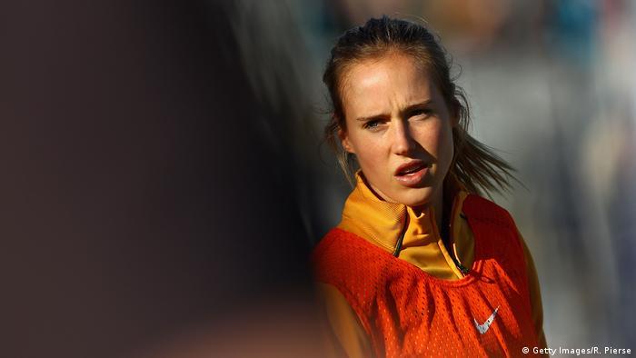 Australien l Sportlerin Ellyse Perry Football (Getty Images/R. Pierse)