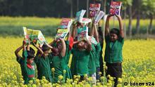 Bangladesch Lehrbuchverteilungsfestival in Mymensingh