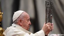 Italien Vatikan l Neujahr 2020 - Papst Franziskus