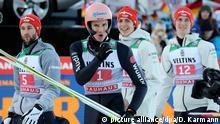 Sport l 68. Vierschanzentournee - Garmisch-Partenkirchen l Skispringer Karl Geiger