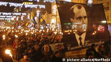 Stepan Bandera Birthday In Kiew Ukraine