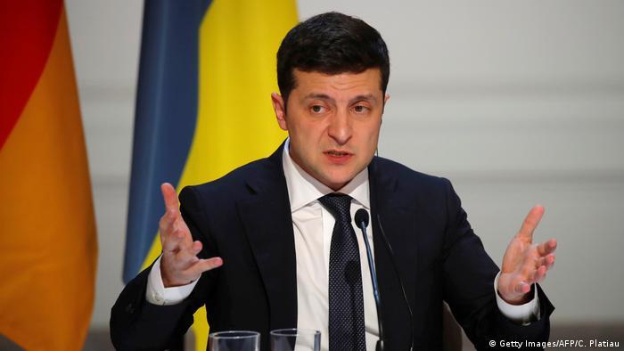 Rais wa Ukraine Volodymyr Zelenskiy (Getty Images/AFP/C. Platiau)