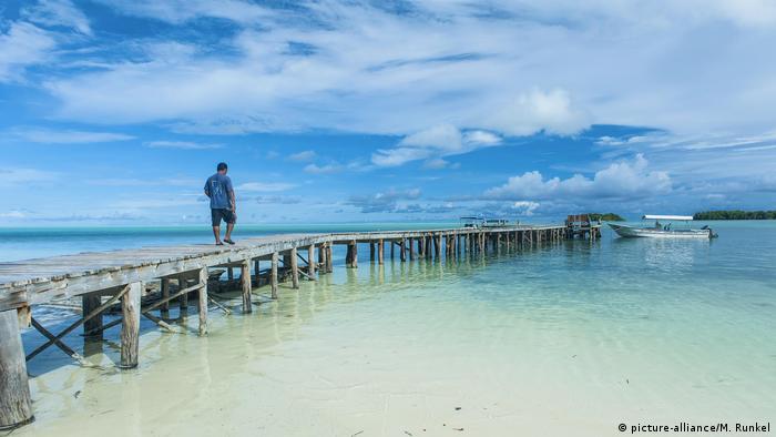 An ocean in Palau