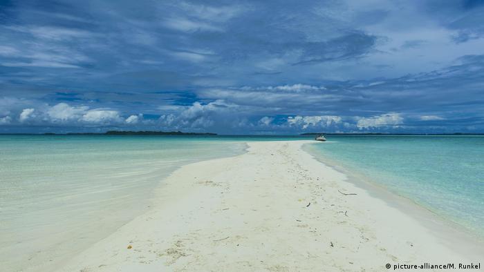 """Desde la copresidencia del Ocean Panel, Palau lidera la ola de la """"economía azul""""."""